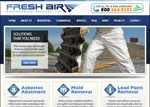 Fresh Air Environmental, Inc – Website Makeover
